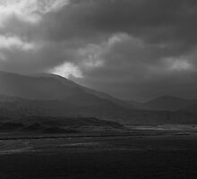Glen Strathfarrar - The Light (B&W Version) by Kevin Skinner