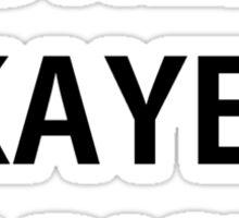 World's Okayest Barista Sticker