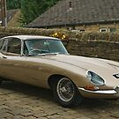 E-Type Jag by Steve  Liptrot