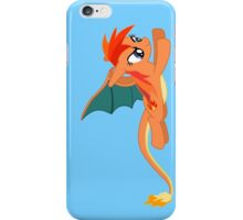 pokemon my little pony bronies charizard rainbow dash anime shirt iPhone Case/Skin