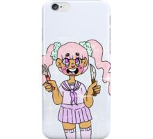 hungry kid! iPhone Case/Skin