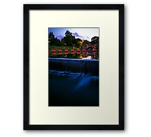 East farleigh kent Framed Print