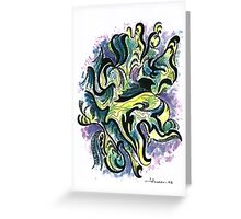Abstracto - Numero 2 Greeting Card