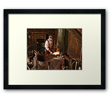 The Master Smith Framed Print