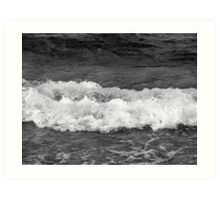 Lake Superior surf Art Print