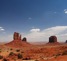 Monument Valley ~  by Barbara Burkhardt