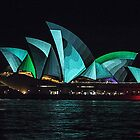 Vivid Opera House by Marylou Badeaux