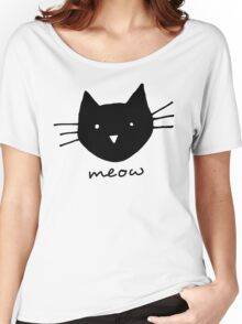 Meow. Women's Relaxed Fit T-Shirt