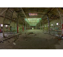 Paint Factory Photographic Print