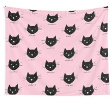 Meow. Wall Tapestry