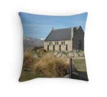 Church of the Good Sheperd Throw Pillow