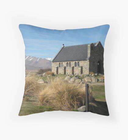 Church of the Good Sheperd Throw Pillow