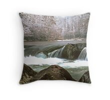GREENBRIER, WINTER Throw Pillow