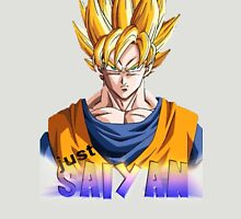 just saiyan transparent background Unisex T-Shirt