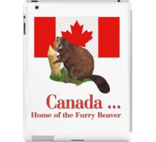 Furry Canada iPad Case/Skin