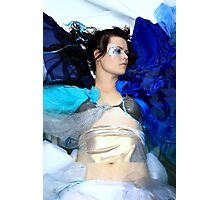 Blue, the most human colour... Photographic Print