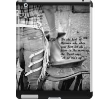 COWGIRL WITH ATTITUDE iPad Case/Skin