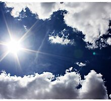 African Sky Blue by Fiona Christensen