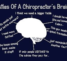 Funny Chiropractor's Thoughts by gailg1957