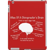 Funny Chiropractor's Thoughts iPad Case/Skin