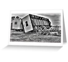 Tumble Building Office Greeting Card