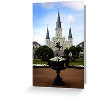 New Orleans Landmark Greeting Card