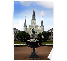 New Orleans Landmark Poster
