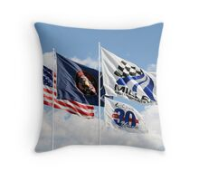 Miller Motorsports Park Throw Pillow