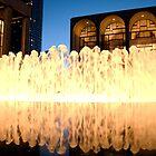 Lincoln Center Fountain by LinneaJean