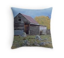 Aussie Shearing Shed Throw Pillow