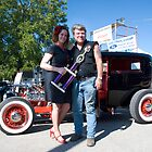 Gary and Becky Chandler - 1928 Model A Ford by Joel Shakespear