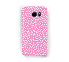 Tiny polka dots in pastel pink. Samsung Galaxy Case/Skin