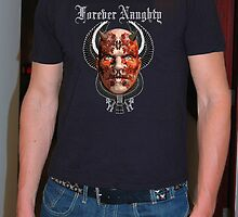 FOREVERY NAUGHTY T SHIRT by Alexander King