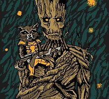 We Are Groot by flylen