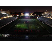 Princeton University Football Staduim at Night Photographic Print