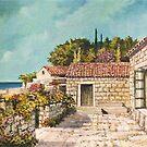 Terrace by Sinisa Saratlic