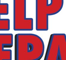 Help Nepal t-shirt 2015 Sticker