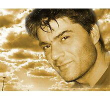 Here I am (self portrait series) !... Photographic Print