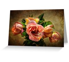 Faded Beauties Greeting Card
