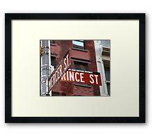 LOCATION,LOCATION,LOCATION Framed Print