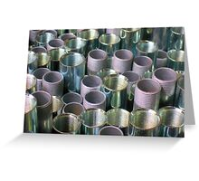Threaded Pipe ~ pillow collection Greeting Card
