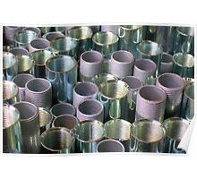 Threaded Pipe ~ pillow collection Poster