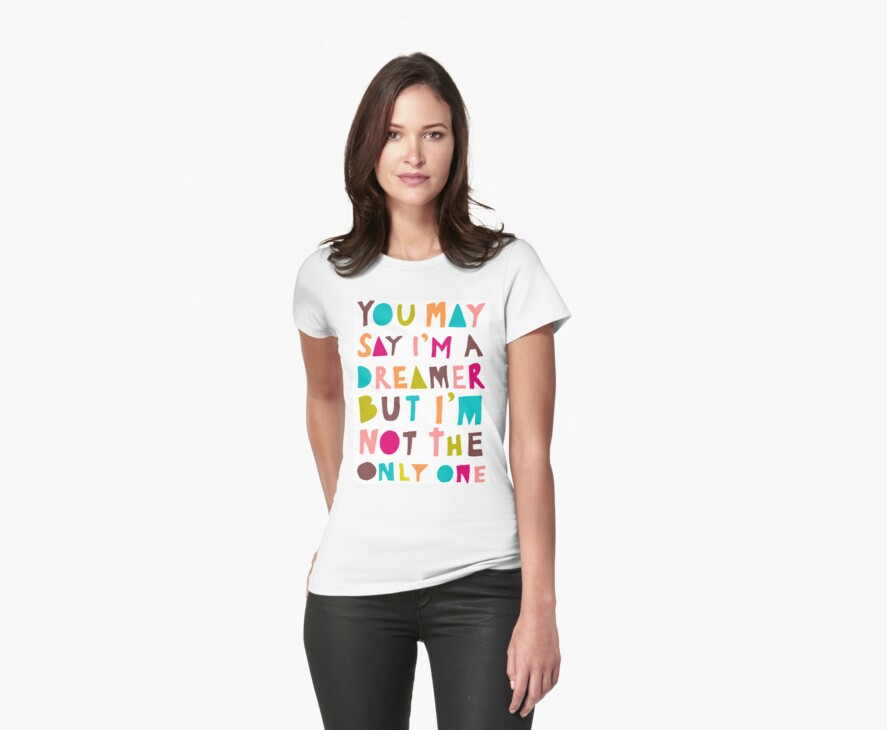 You May Say I'm A Dreamer - Colour Version by TheLoveShop