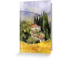 Morning in Tuscany Greeting Card