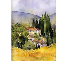 Morning in Tuscany Photographic Print