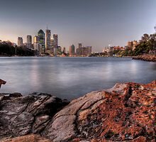 Kangaroo Point • Brisbane by William Bullimore