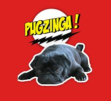 PUGZINGA!  Mens V-Neck T-Shirt