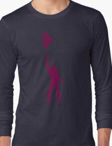 Heman at the Fun Park - Purple Long Sleeve T-Shirt
