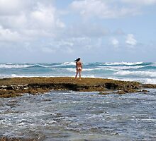 Hawaiian Curves and Waves by Kalliane