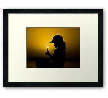 Firefly - Cooktown Wharf - Queensland - Australia Framed Print